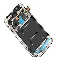 Lcd Screen With Frame Touch Screen Lcd Display Complete Screen Assembly Replacement Parts Red For Samsung Galaxy I9500