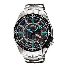 Silver Quartz Stainless Steel Strap Mens' Wrist Watch