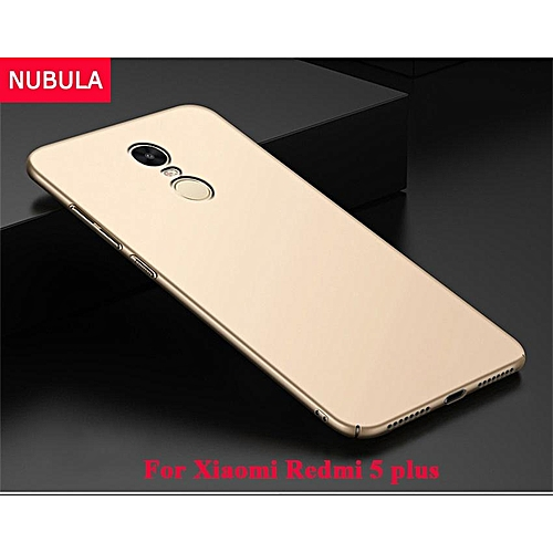 best loved 37d46 0a3c7 Back Cover For Xiaomi Redmi 5 Plus / Redmi Note 5 360 Degrees Ultra-thin PC  Hard Shell Case 232701