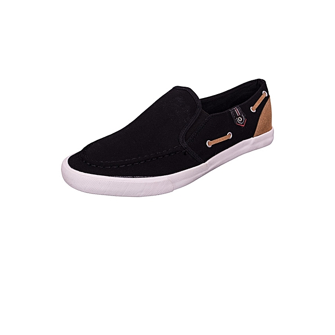 24aa6c89014 Generic Black Canvas Slip-On Sneakers Shoes   Best Price