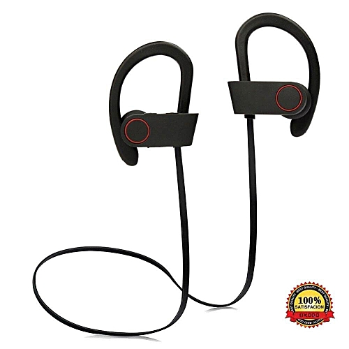 a58f54ae73c Bluetooth Headphones, Best Wireless Sports Earphones w/Mic IPX7 Waterproof  HD Stereo Sweatproof In