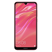 "Y7 Prime (2019) - 6.26"" - 8MP+16MP - 32GB ROM - 3GB RAM - (Dual) - Coral Red"