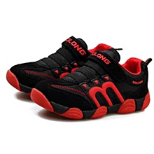 Kids Sneakers - Red and Black