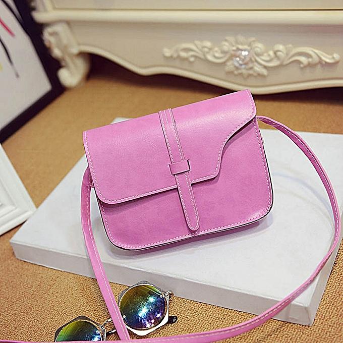 2f631b5dee86 Fashion Hiamok Women Girl Shoulder Bag Faux Leather Satchel Crossbody Tote  Handbag Hot