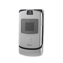 Motorola Razr V3 GSM Unlocked International Mobile Phone  -silver
