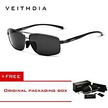 a0b9e4fe2a57 VEITHDIA Polarized Men  039 s Sunglasses Aluminum Frame Sun Glasses Driving  Eyewear Accessories For