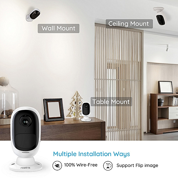 Argus 2 WiFi Camera Rechargeable Battery Powered IP Camera 1080P Full HD  Outdoor Indoor Security 130 Wide View Angle(Argus 2)