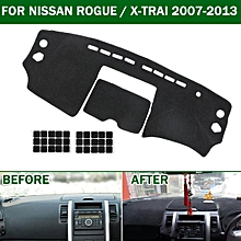 Car Dashmat Dashboard Dash Mat Cover Pad For Nissan X-Trail Xtrail T31 2008-2013