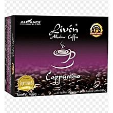 Alkaline liven coffee - cappuccino