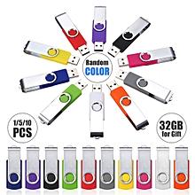 32GB USB 2.0 Swivel Flash Memory Thumb Stick Pen Drive Storage U Disk Gift
