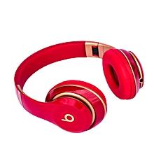 Studio 3 Wireless Bluetooth Stereo Headphones- Red