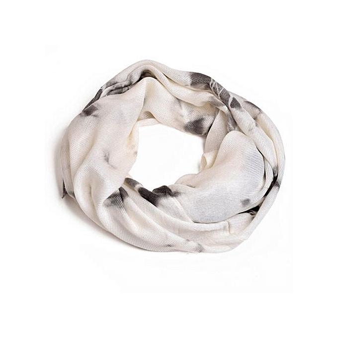 4812c7860d80d Hiaojbk Store Women Winter Warm Infinity Circle Cable Knit Cowl Neck Faux  Cashmere Scarf Shawl-