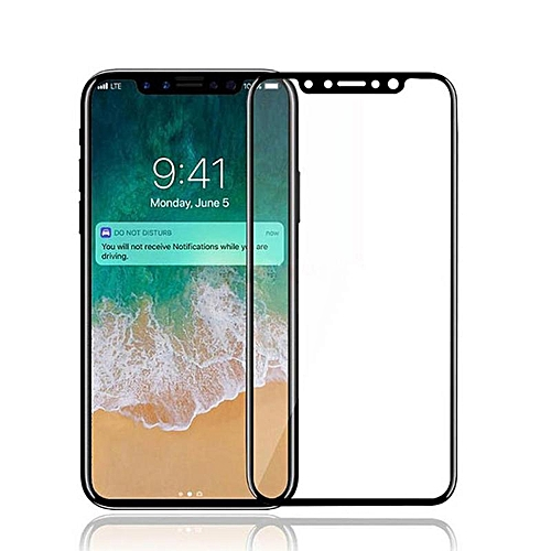 innovative design b40f5 d41e8 IPhone X Screen Protector , for iphone 10 Tempered Glass 3D Full Coverage  Film HD Clear Cover Screen Protector For IPhone X / 10 259312 Color-0