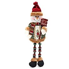 ELK Doll Christmas Decoration Xmas Tree Decent Ornaments 26cmx13cm Snow man