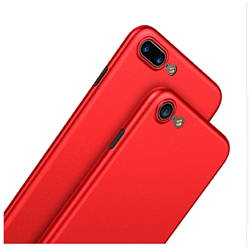 quality design 67b7d 431e2 Baseus Fashion Simple Ultra Thin Slim PP Matte Phone Case for IPhone 8  (Red) FCJMALL