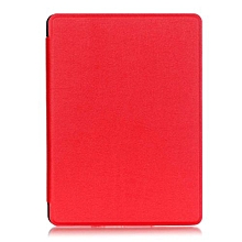"For Amazon Kindle 8th 2016 Case, Ultra Slim Case + PU Leather Smart Cover Auto Sleep/Wake For 6.0"" Tablet Kindle 558, Red"