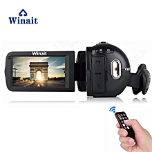 Winait remoter control digital video camera with full hd 1080p extra macro lens Face Detection Continous Shot LOOKFAR
