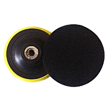 Wax Polishing Buffing Pad Backing Plate For Hooking Looping Grinding Machine&Flocking Sandpaper&Self-adhesive Wool Ball Models:5 Inch 125MM Thread M14