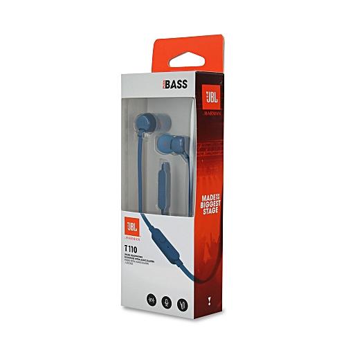 JBL T110 In-Ear Headphones - Blue   Best Price  86ca0c66f8256