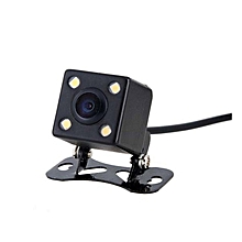GraceCar CCD camera HD LED adjustable plug Night vision Reversing camera-black
