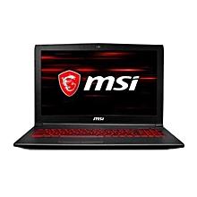 MSI GV62 8RD-093CN Gaming Laptop i7-8750H 8GB DDR4 128GB SSD 1TB HDD GTX 1050 Ti 4G EU PLUG