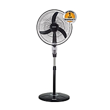 "BSF 45B - 18"" - Free Standing Fan - 3 Speed - Black & Gray"