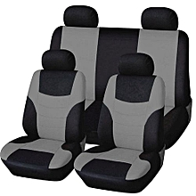 OR Universal Car Seat Cushions Breathable Covers Pads Head Rest-gray