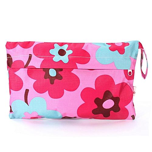 555980fe79e25b Generic Baby Portable Waterproof Wet Dry Bag Cloth Diaper Reusable Nappy Bag  Pockets