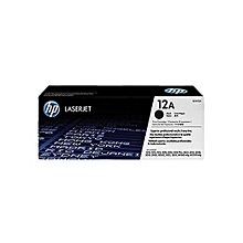 12A - Q2612A - LaserJet Toner Cartridge - Black