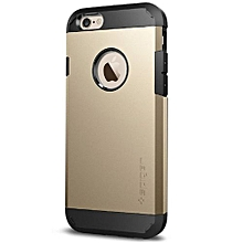 Armor Back Cover for iPhone 7 plus -Gold & Black