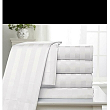 Duvet Cover - White Strise
