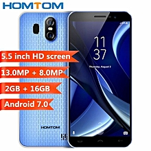 S16 3G Smartphone 2GB RAM +16GB ROM Android 7.0-Blue