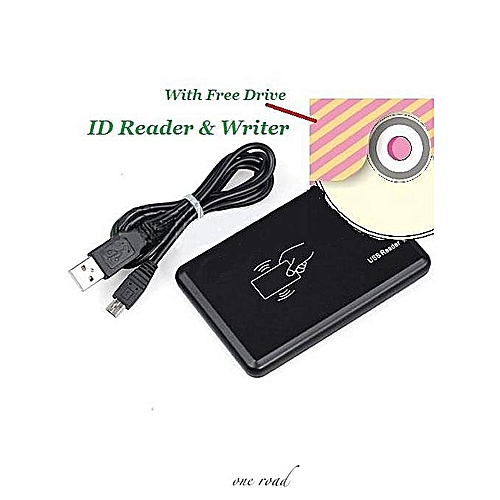 Five-Key Rfid Reader With Software Cd And Cable Black