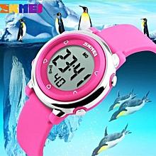 SKMEI Children Watch LED Digital Sports Relojes Mujer Boys Girls Fashion Kids Cartoon Jelly Waterproof Relogio Feminino 1100