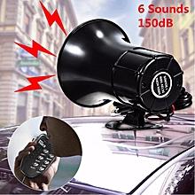 6Six Tone DC 12V Loud Alarm Horn Siren for Car Motor Truck ATV Security System