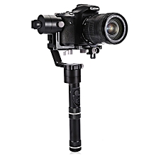 Crane 3-axis Handheld Gimbal with 360-degree Unlimited Rotation Honeycomb Core - Black
