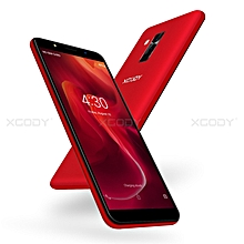 "16GB un-locked 6"" Android 8.1 Mobile Phone Quad Core Dual SIM 3G Smartphone -red"