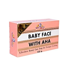 K.brothers Baby Face Soap With AHA - 50g