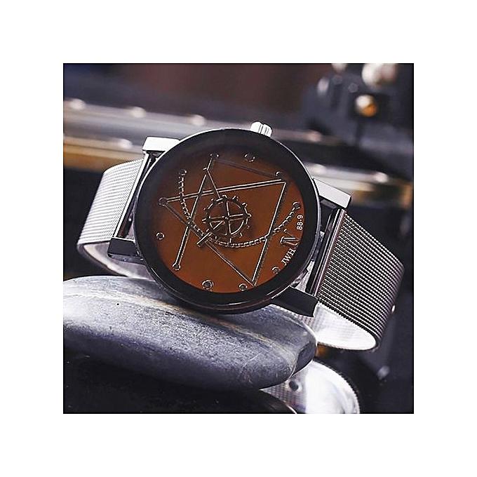 Watch Lover's Quartz Analog Wrist Delicate Watch Luxury Business Watches CO-Coffee