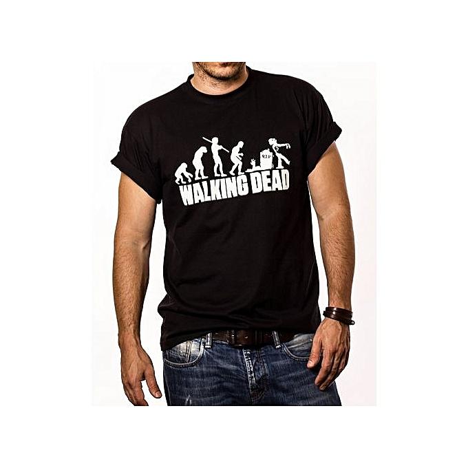 606397435 Men's Black Graphic T-Shirt Unisex T Shirt Funny Shirt Cheap Men T-shirt