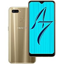 "A7 - 64GB Rom - 3GB Ram - 6.2"" - 4230mAh - Dual SIM 4G - Gold"