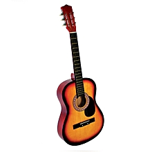 38 inch Beginners Acoustic Guitar Wood Strap Tuner Pick Steel String Kids Gift