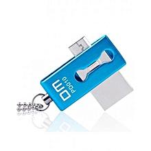 Flash Disk - 8GB - OTG - Blue