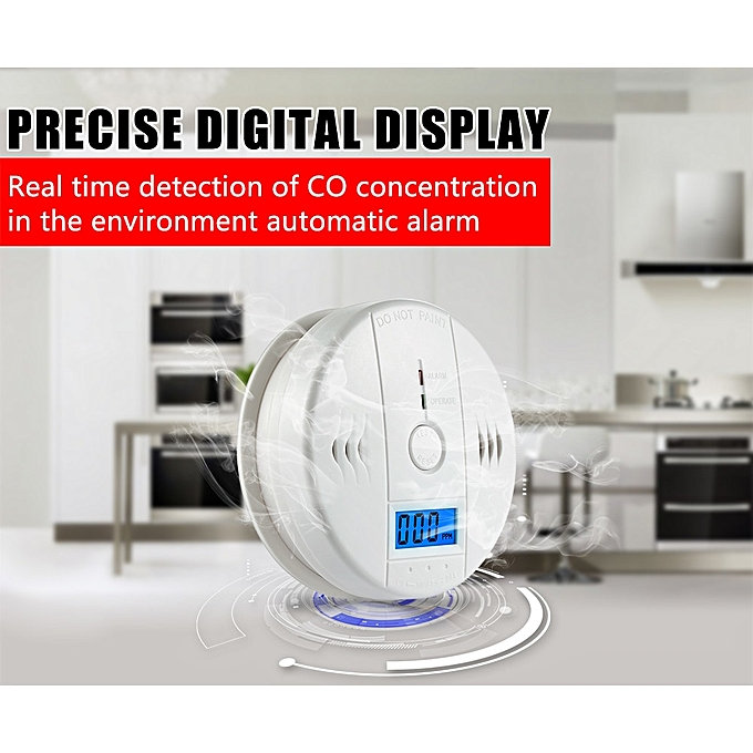 Security & Protection Carbon Monoxide Detectors The Best Lcd Photoelectric Carbon Monoxide Home Security Alarm Co Gas Sensor Detector Alarm Warning High Sensitive Independent Online Shop