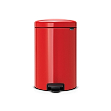 111860 - Newicon Pedal Bin 20L - Passion Red
