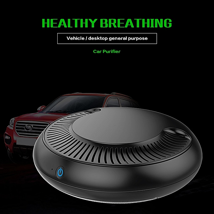 b8f39756c ... Car Air Purifier with Filter Freshener Cleaner Negative Ionizer USB  Formaldehyde Bacteria Odor Purifying Device Auto