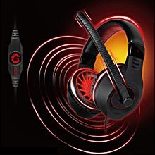 G9 Plus 3.5mm Plug Gaming Headset With Omni-directional Mic Volume Control(BLACK)