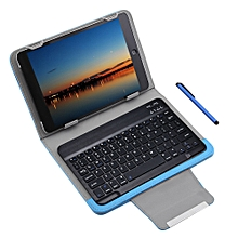 3 In 1 Universal Bluetooth Keyboard Tablet Case 9 / 10 Inch - Blue