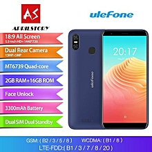 S9 Pro 5.5-inch (2GB RAM, 16GB ROM) Android 8.1, Dual Camera, MTK6739 1.3GHz Quad Core, 4G LTE Smartphone - Blue