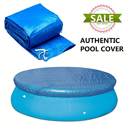 Generic 8Ft SWIMMING POOL COVER Round Family Paddling Fast Set ...